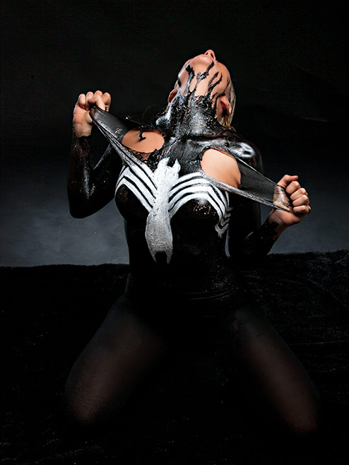 Venom Latex Photography in Oklahoma