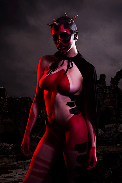 Creative Body Painting Photographer in Oklahoma