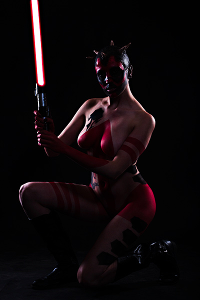Mandy Sith Body Painting