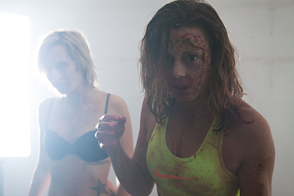 Zombie Behind the scenes photography